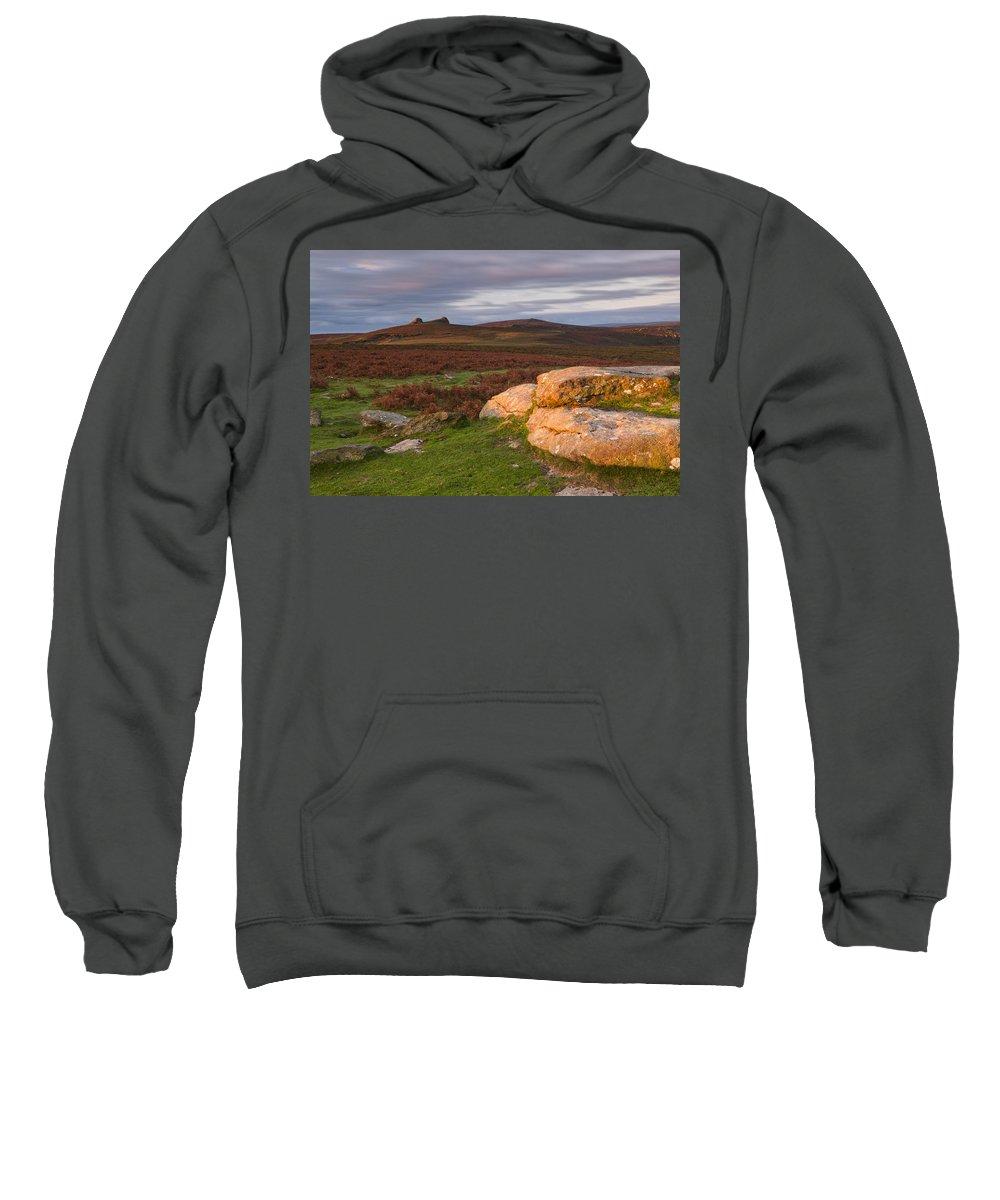 Great Britain Sweatshirt featuring the photograph Sunrise by Sebastian Wasek