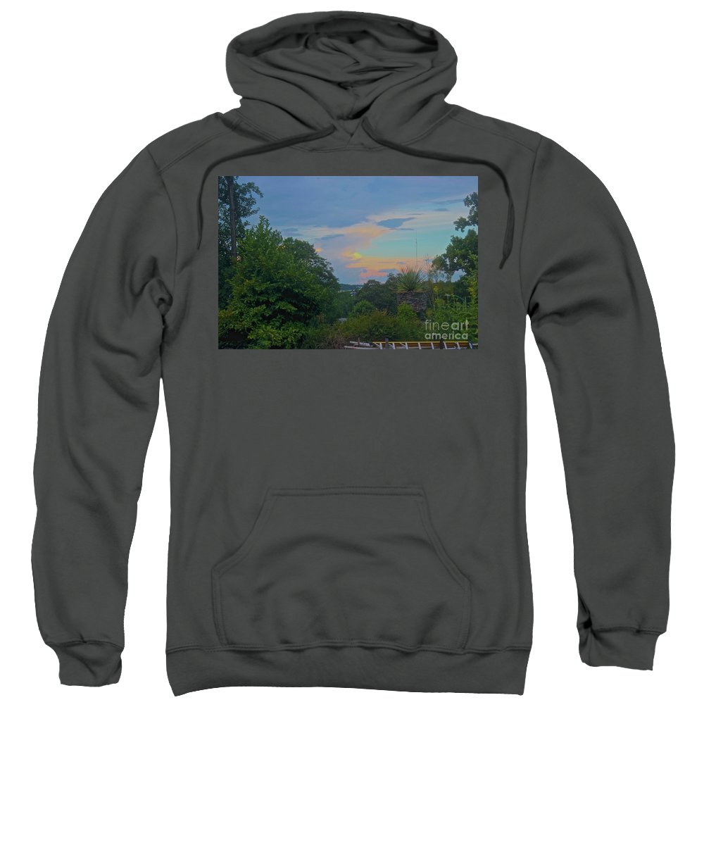 Canon T3i Eos Rebel Sweatshirt featuring the photograph 01142017089 by Debbie L Foreman
