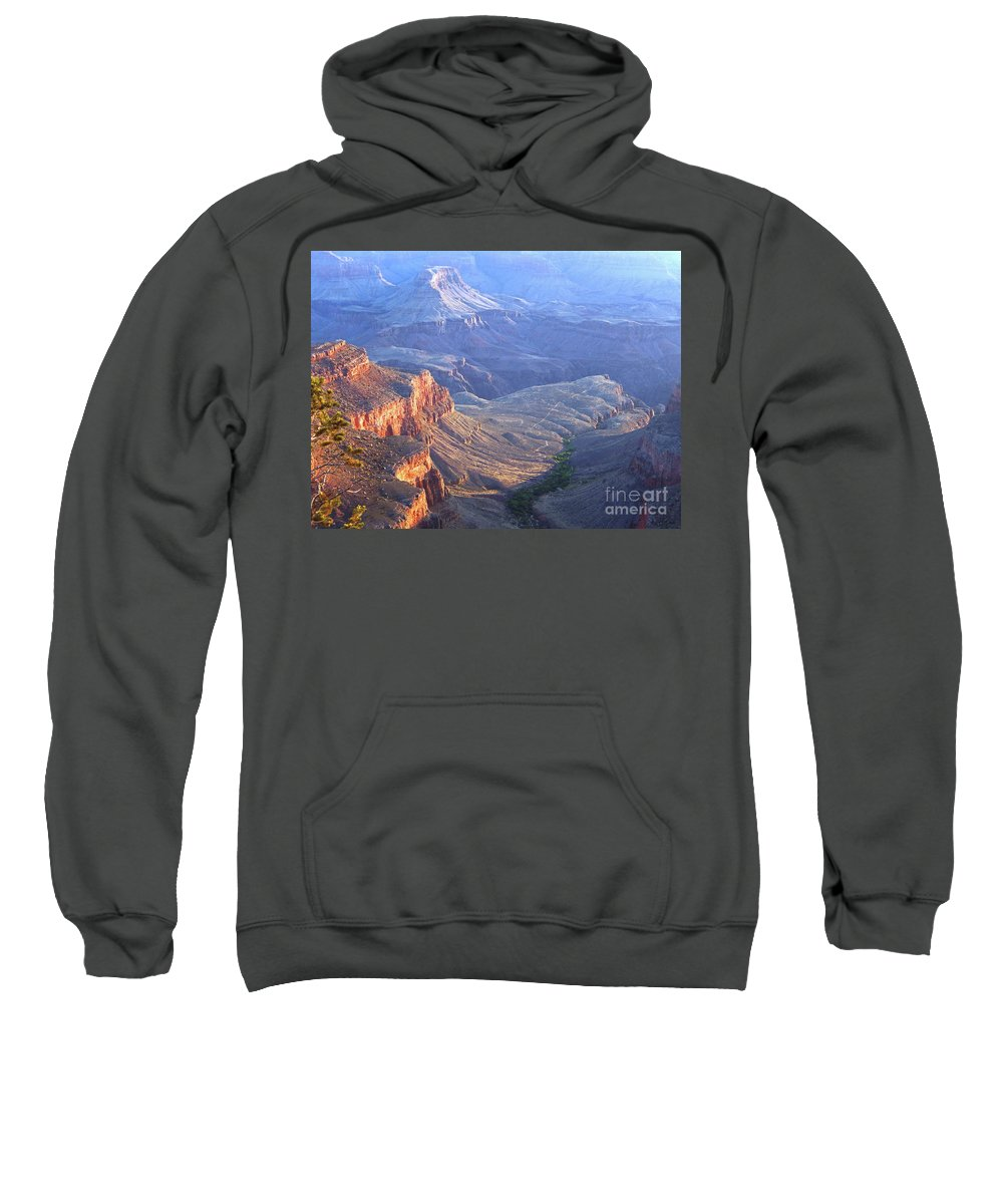 Landscape Sweatshirt featuring the photograph Across The Miles by Sharon Eng