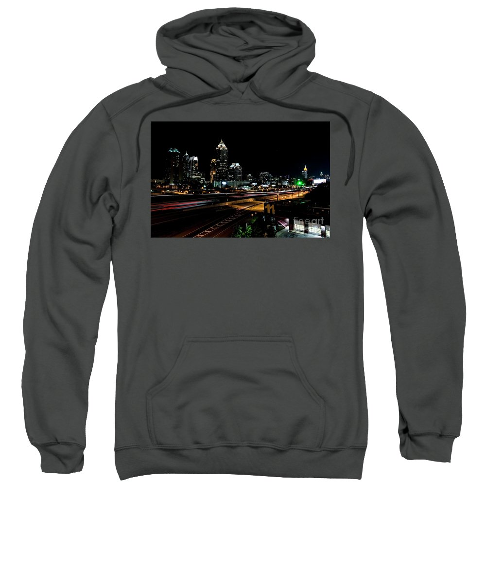 Atlanta Sweatshirt featuring the photograph Atlanta Expressway by David Bearden