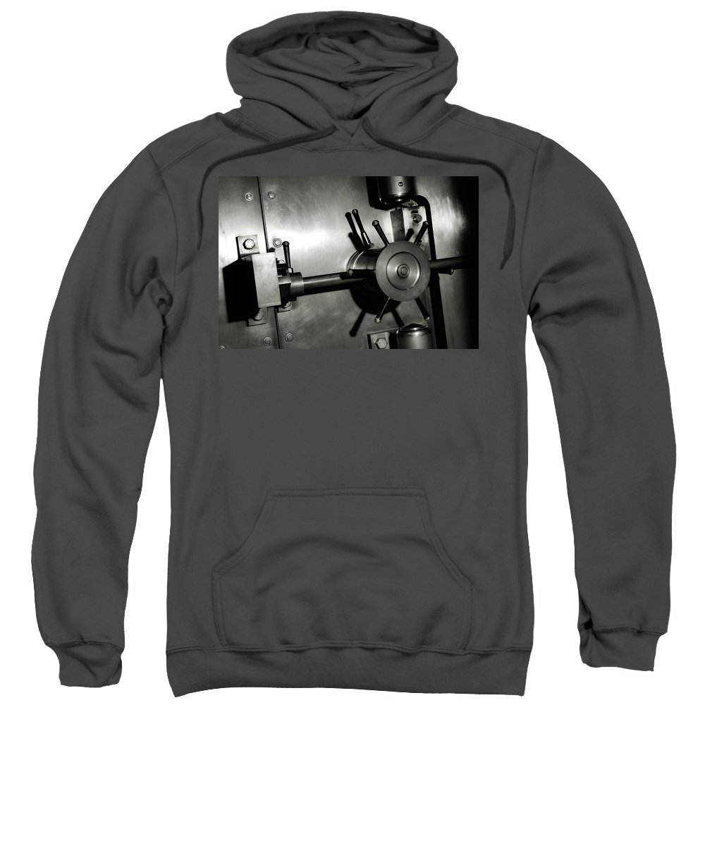 Vault Sweatshirt featuring the photograph Bank Vault by Oleksiy Maksymenko