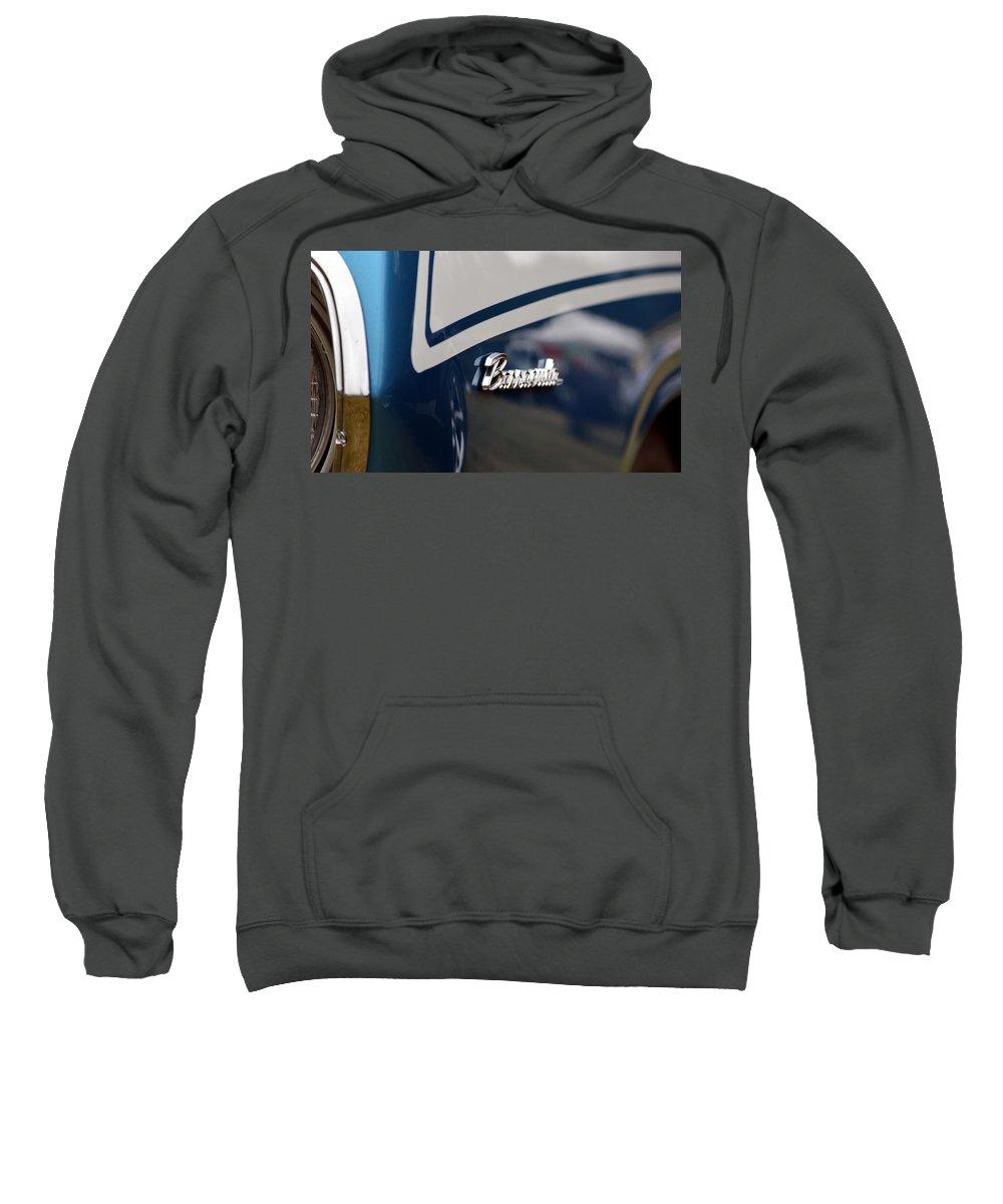 Sweatshirt featuring the photograph Barracuda by Dean Ferreira