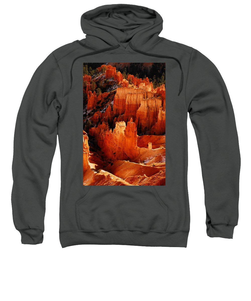 Bryce Canyon Sweatshirt featuring the photograph Bryce Canyon by Harry Spitz