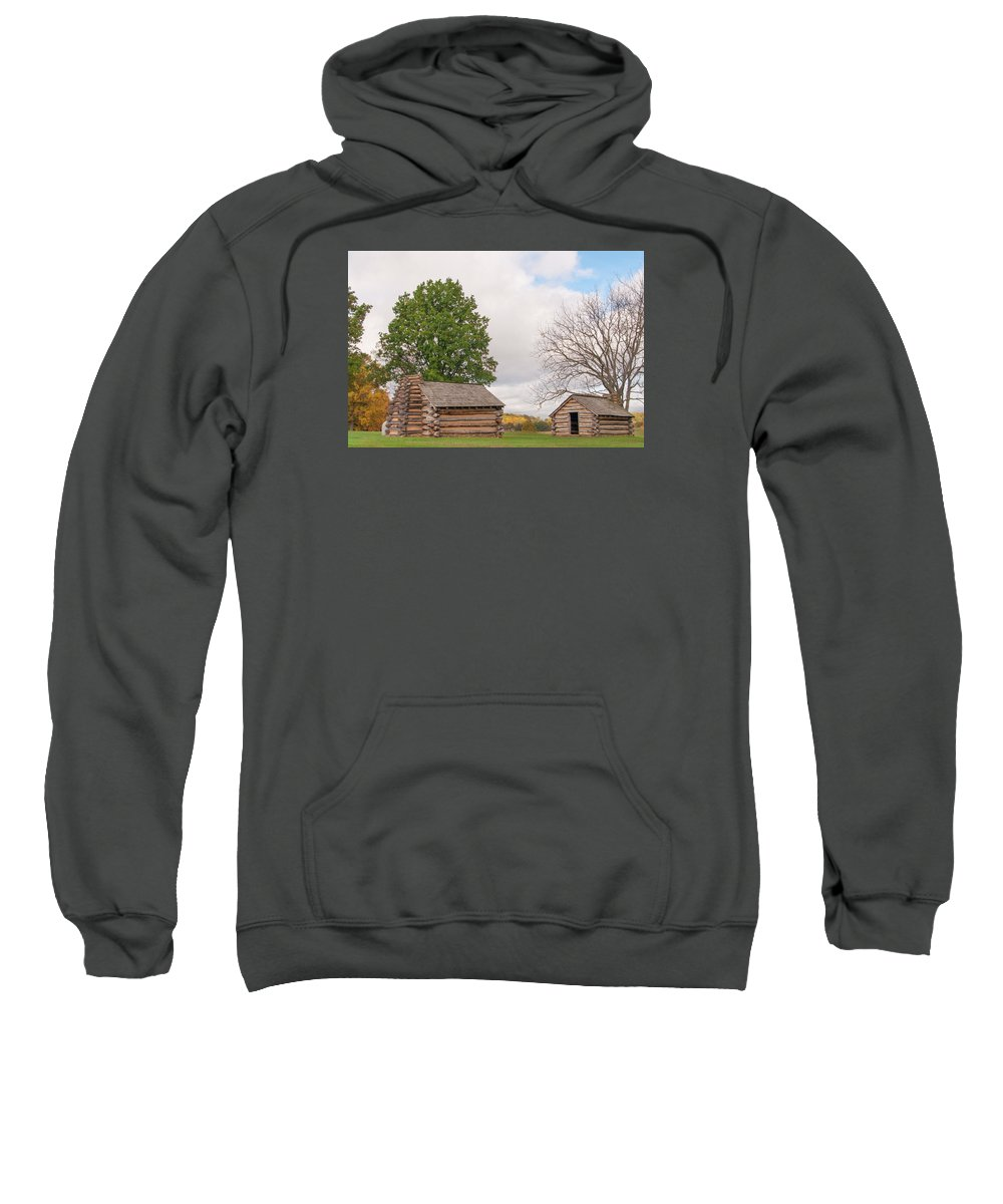 Gaetano Chieffo Sweatshirt featuring the photograph Cabin by Gaetano Chieffo