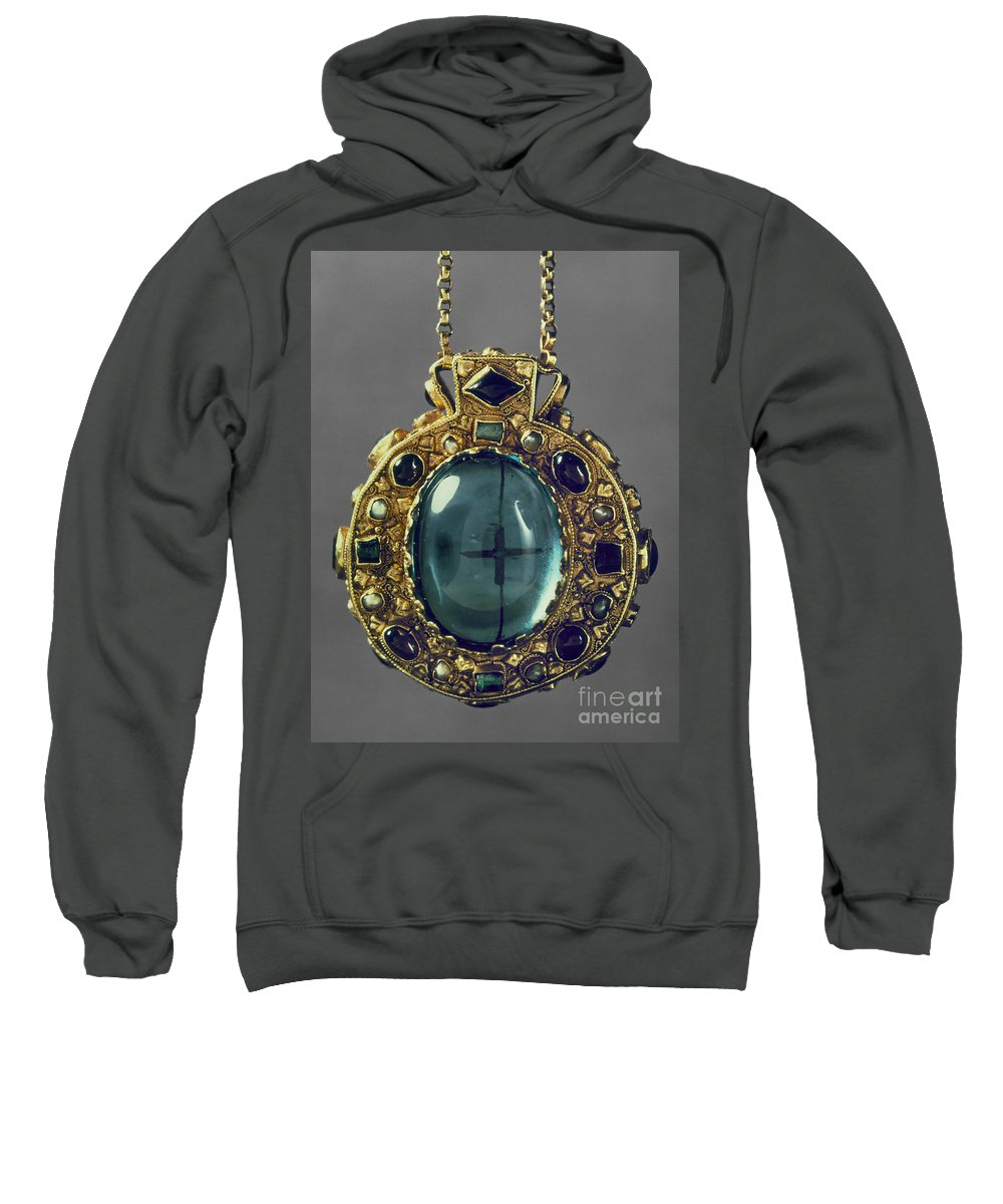 8th Century Sweatshirt featuring the photograph Charlemagne (742-814) by Granger