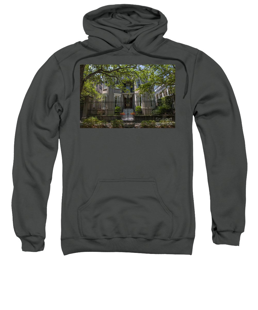 James Simmons House Sweatshirt featuring the photograph James Simmons House by Dale Powell