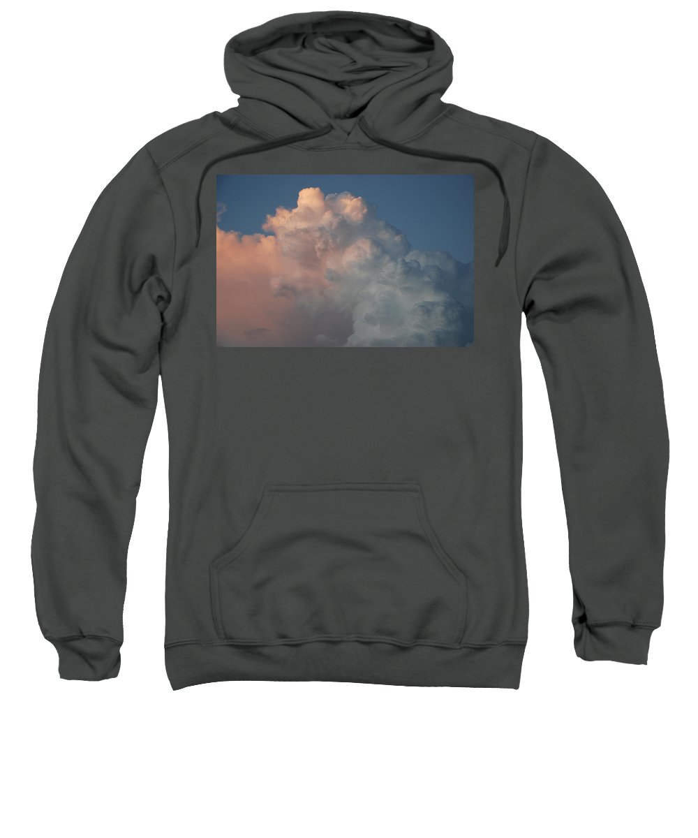 Clouds Sweatshirt featuring the photograph Cloudy Day by Rob Hans