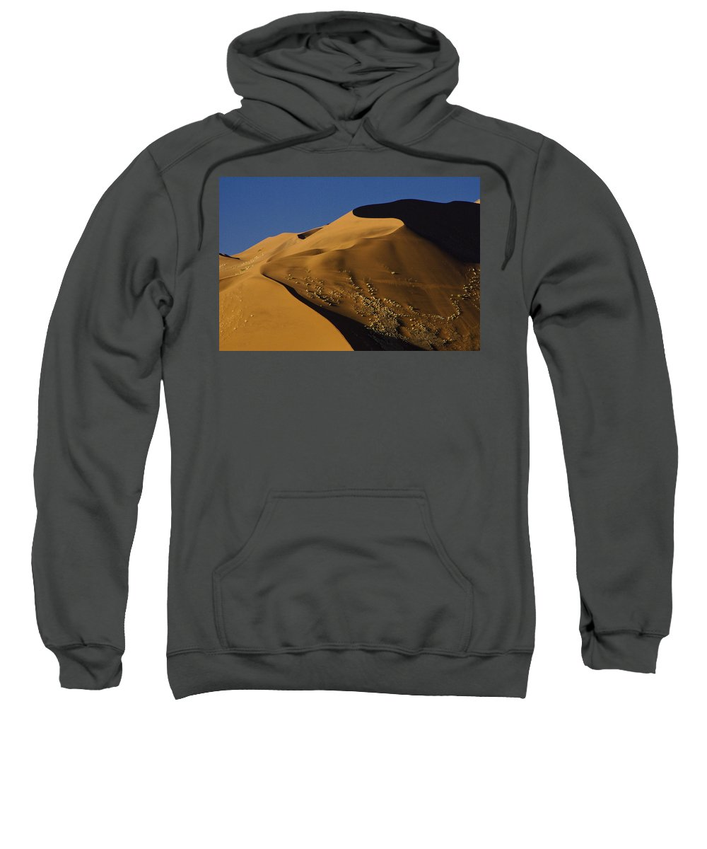 Africa Sweatshirt featuring the photograph Contours Of Sossusvlei by Michele Burgess