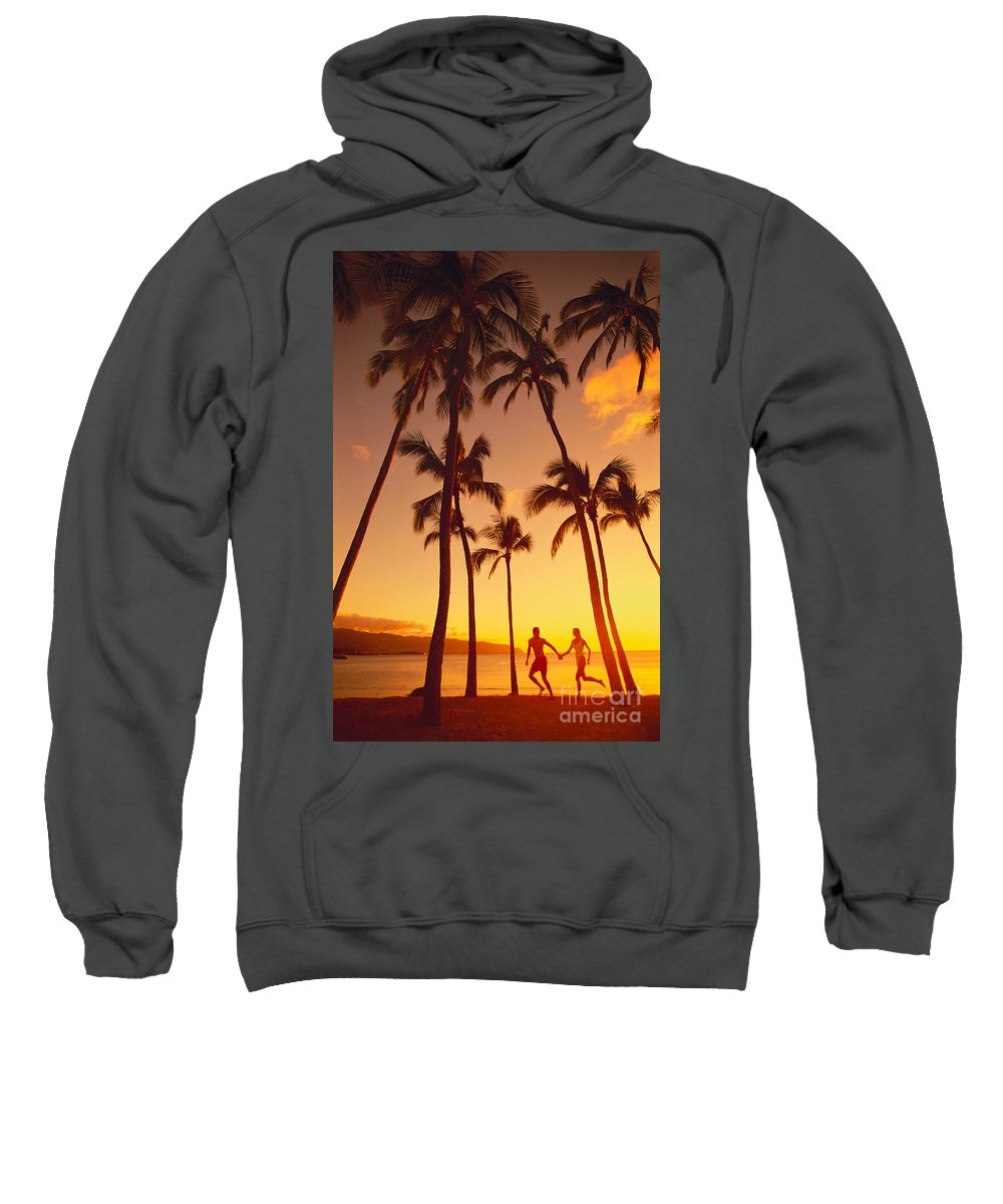 Affection Sweatshirt featuring the photograph Couples Vacation by Dana Edmunds - Printscapes
