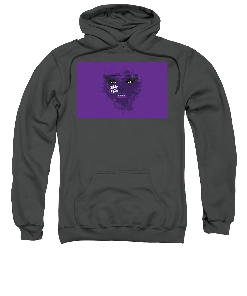 Dark Sweatshirt featuring the digital art Dark by Bert Mailer