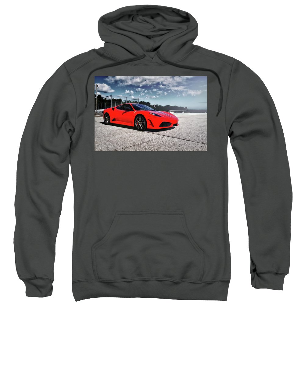 Ferrari Sweatshirt featuring the photograph Ferrari F430 by Joel Witmeyer
