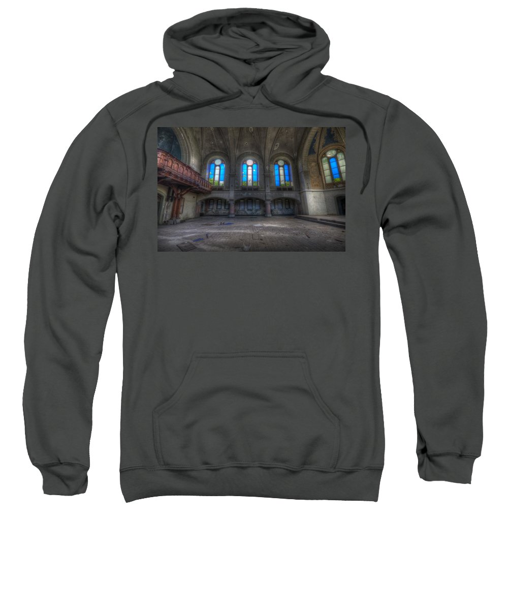 German Sweatshirt featuring the photograph Four Windows by Nathan Wright