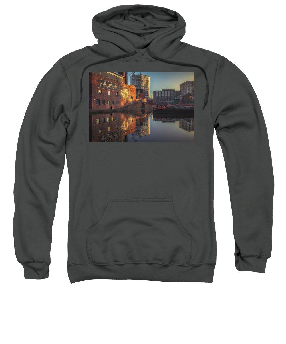 6x4 Sweatshirt featuring the photograph Gas Street Basin Sunrise No3 by Chris Fletcher