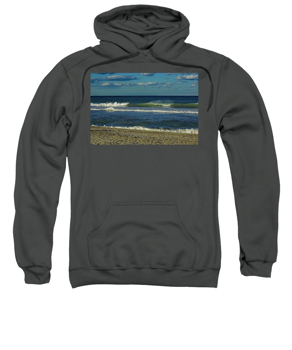 Beach Sweatshirt featuring the photograph Hutchinson Island Fl. by Colleen Fox