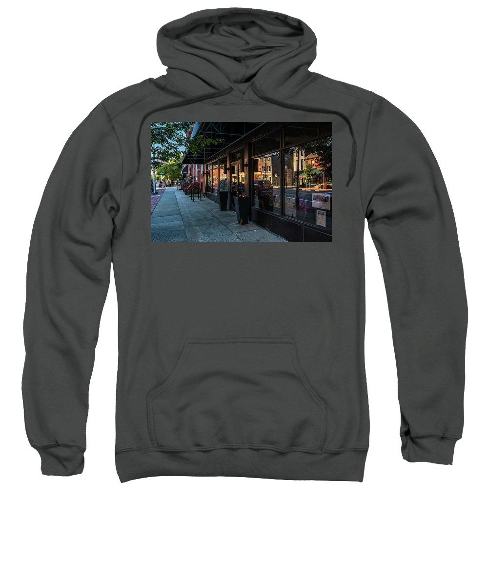 Baltimore Sweatshirt featuring the photograph Light Street by Jim Archer