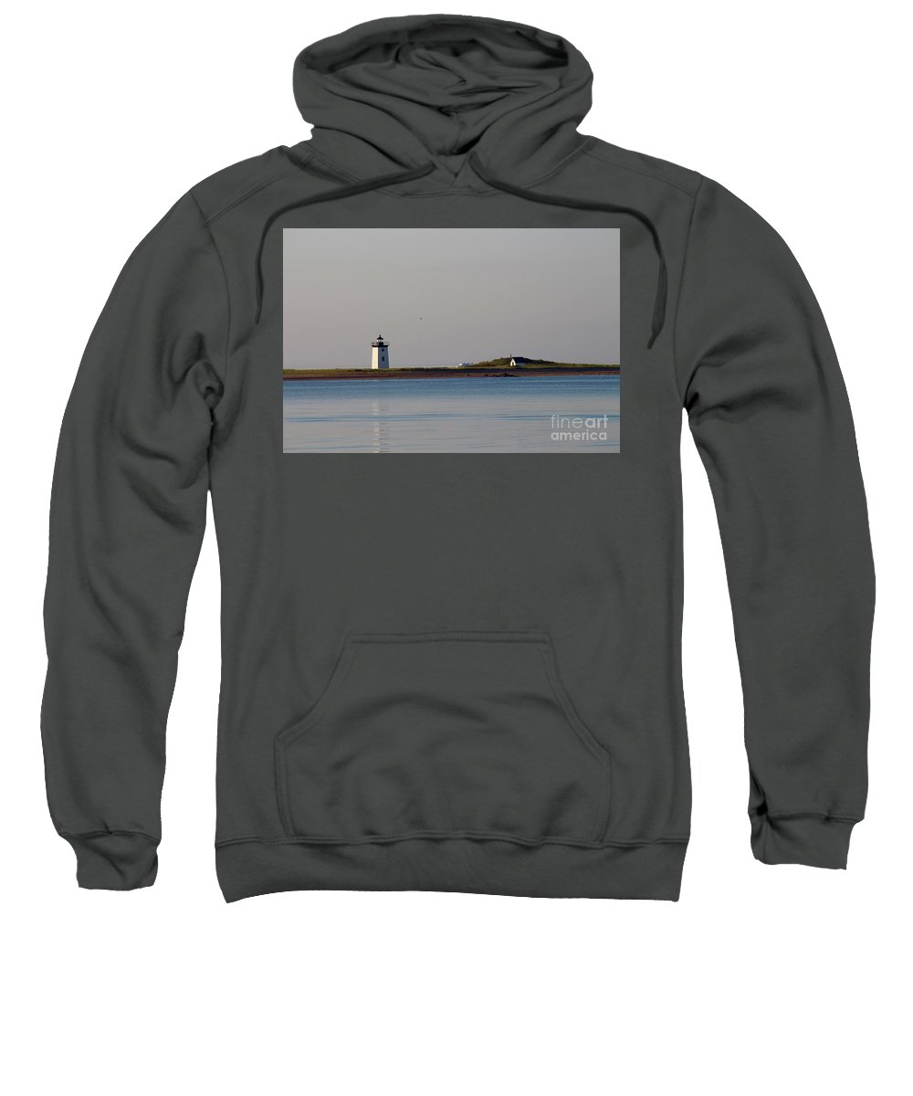Lighthouse / Provincetown Sweatshirt featuring the photograph Lighthouse Provincetown 2 by Gregory E Dean