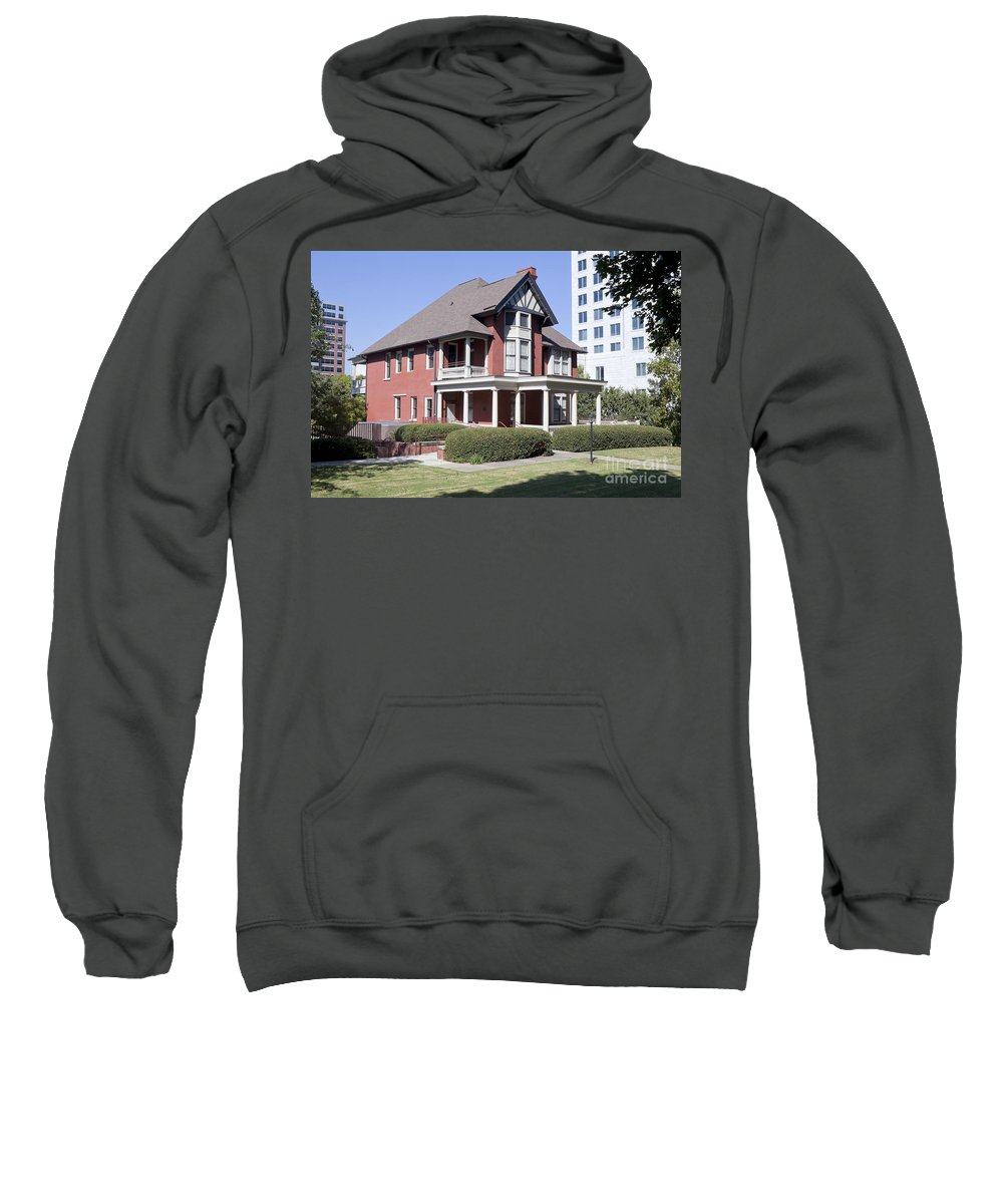 Margaret Mitchell House Sweatshirt featuring the photograph Margaret Mitchell House In Atlanta Georgia by Anthony Totah