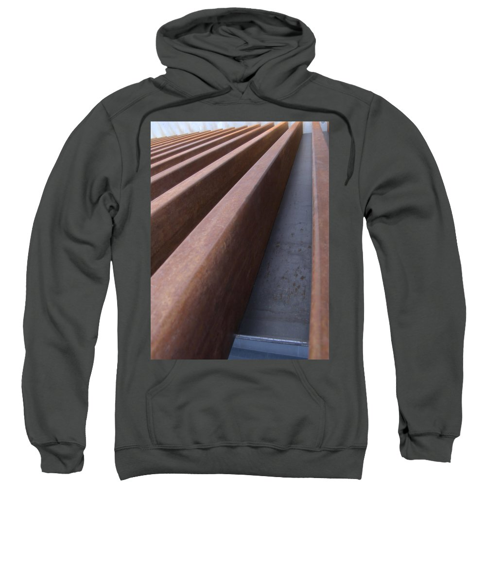 Museum Sweatshirt featuring the photograph MCA by Jeffery Ball