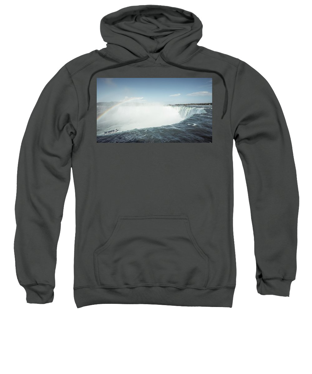 Niagara Falls Sweatshirt featuring the photograph Niagara Falls by Alexander Voss