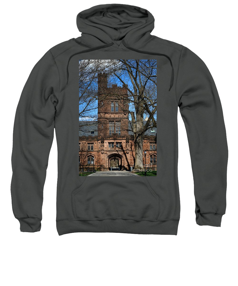Princeton Sweatshirt featuring the photograph Princeton University East Pyne Hall Tower by Olivier Le Queinec