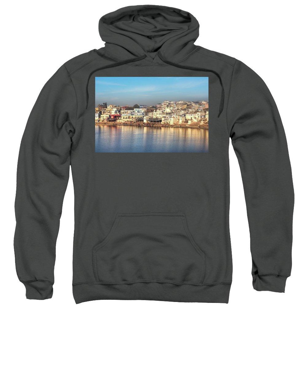 Pushkar Sweatshirt featuring the photograph Pushkar - India by Joana Kruse
