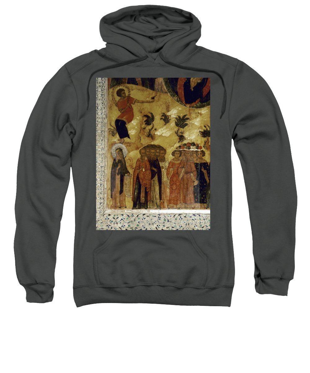 16th Century Sweatshirt featuring the photograph Russia: Icon by Granger