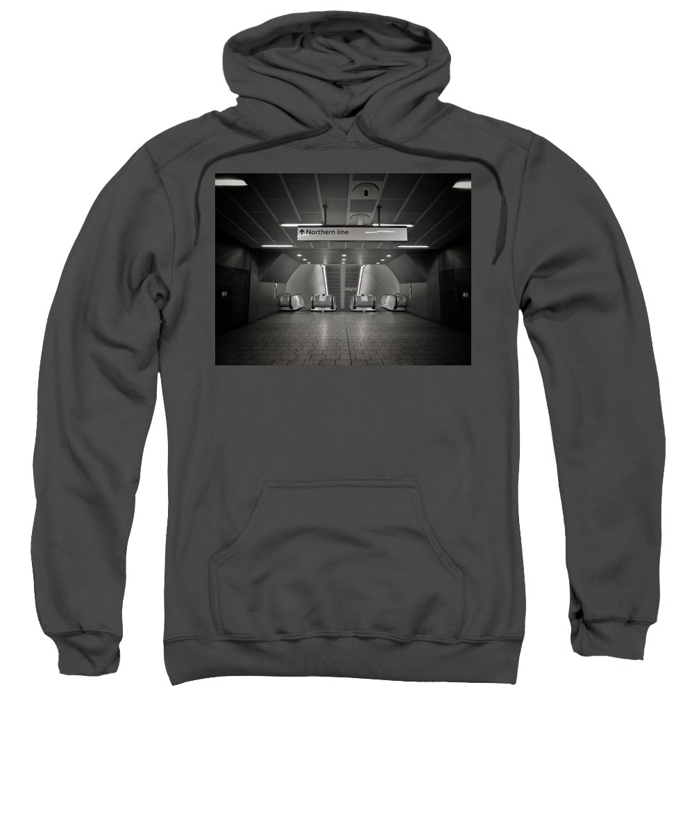 Uk Sweatshirt featuring the photograph Submission by Douglas Stratton