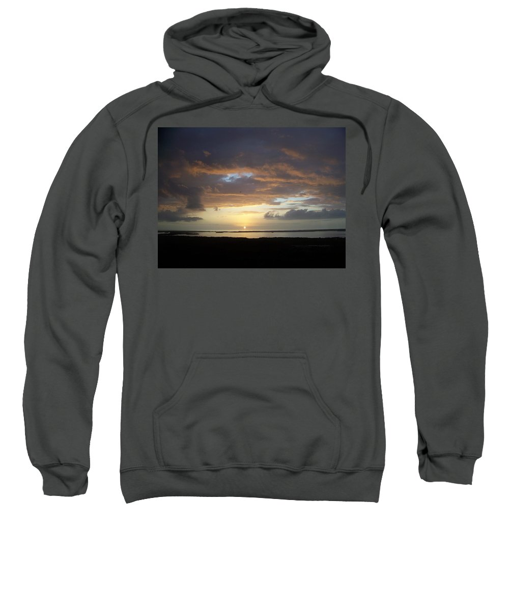 Sunset Sweatshirt featuring the photograph Sunset 0020 by Laurie Paci