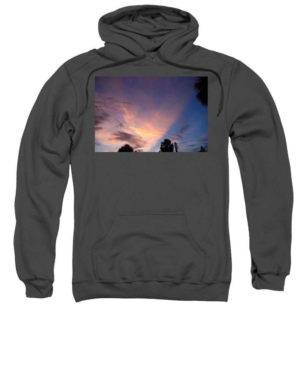 Sunset Sweatshirt featuring the photograph Sunset At Pine Tree by Rob Hans