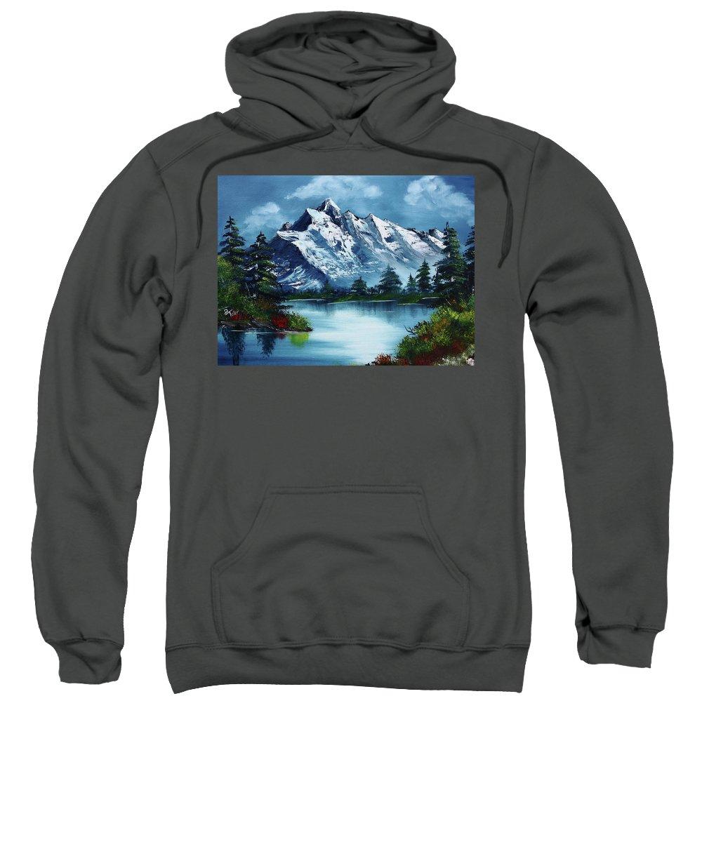 Bob Ross Paintings Hooded Sweatshirts T-Shirts