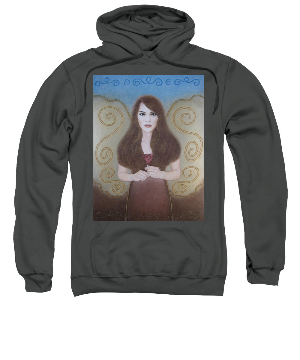 Dream Sweatshirt featuring the painting The Dream by Lynet McDonald