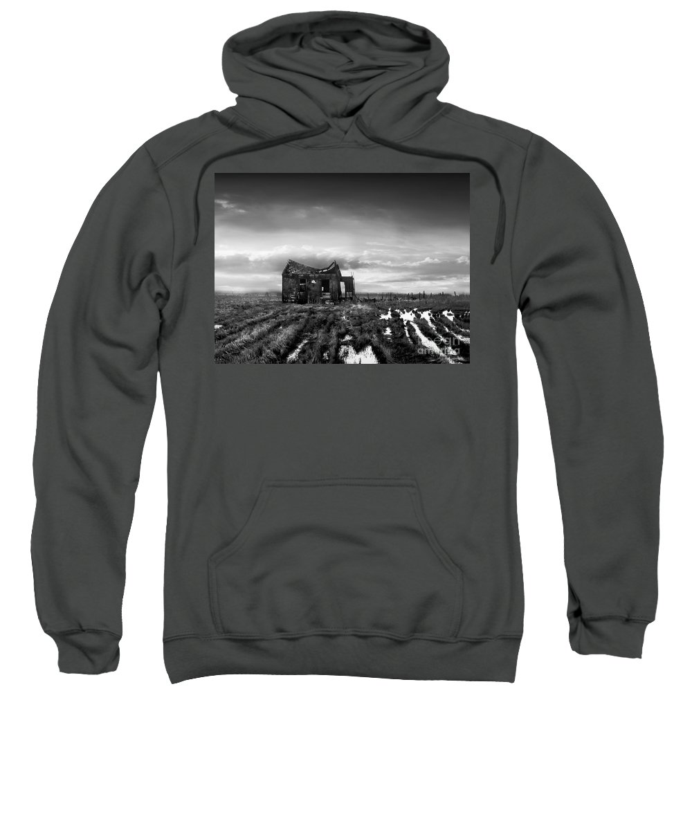Architecture Sweatshirt featuring the photograph The Shack by Dana DiPasquale