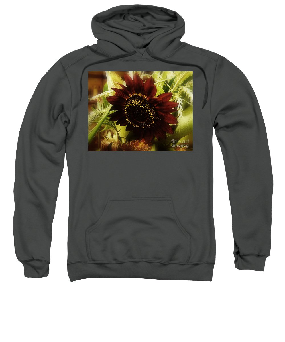 Sunflower Sweatshirt featuring the photograph The Softness Of Autumn by RC DeWinter