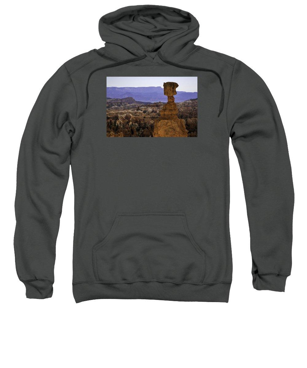 Bryce Canyon National Park Sweatshirt featuring the photograph Thors Hammer by Elizabeth Eldridge