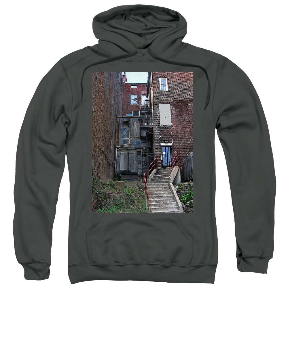 2d Sweatshirt featuring the photograph Urban Decay by Brian Wallace