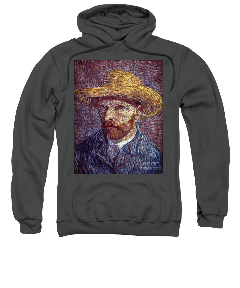 19th Century Sweatshirt featuring the photograph Vincent Van Gogh by Granger