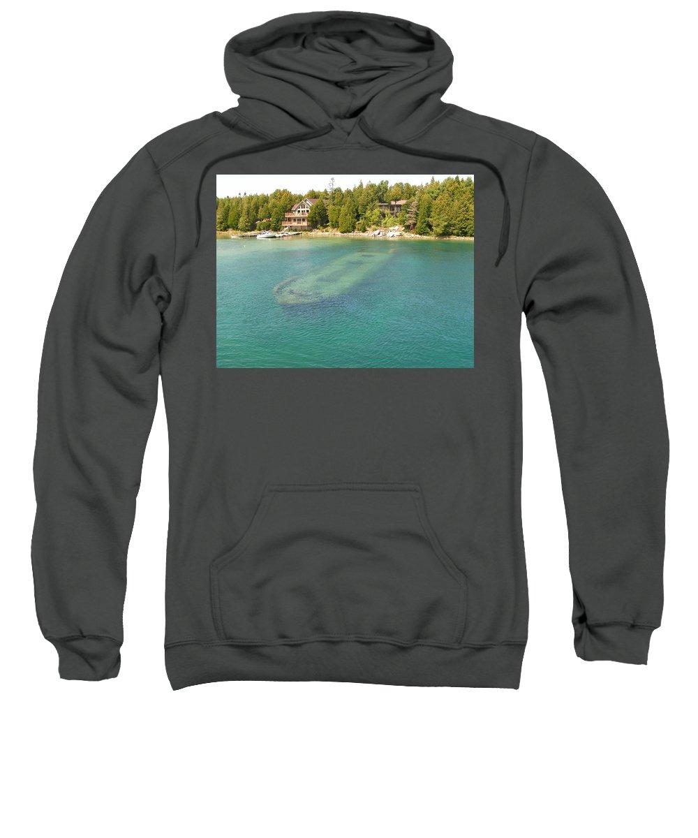 Wreck Sweatshirt featuring the digital art Wreck by Bert Mailer