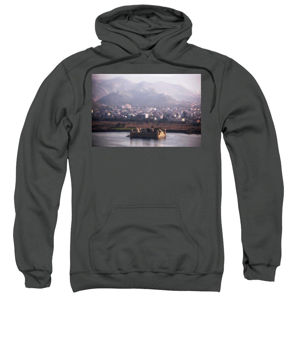 Jal Mahal Sweatshirt featuring the photograph Jaipur - India by Joana Kruse