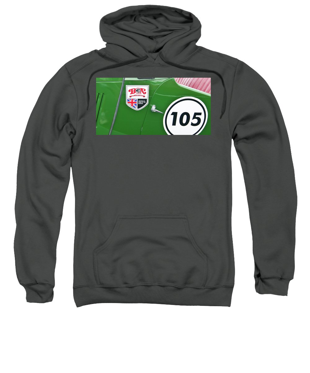 Antique Car Sweatshirt featuring the photograph 105 2039 by Guy Whiteley