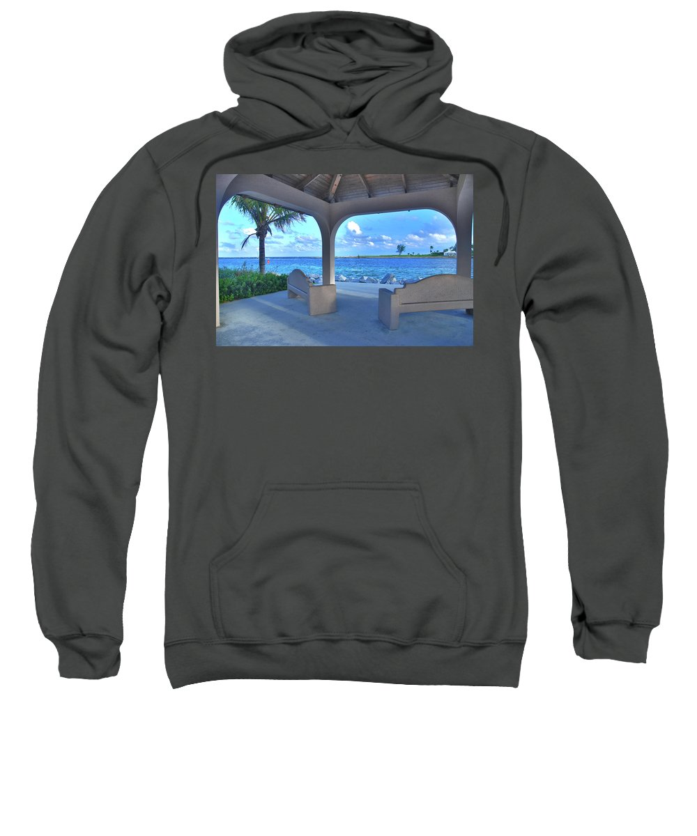 Sweatshirt featuring the photograph 11- Lake Worth Inlet by Joseph Keane