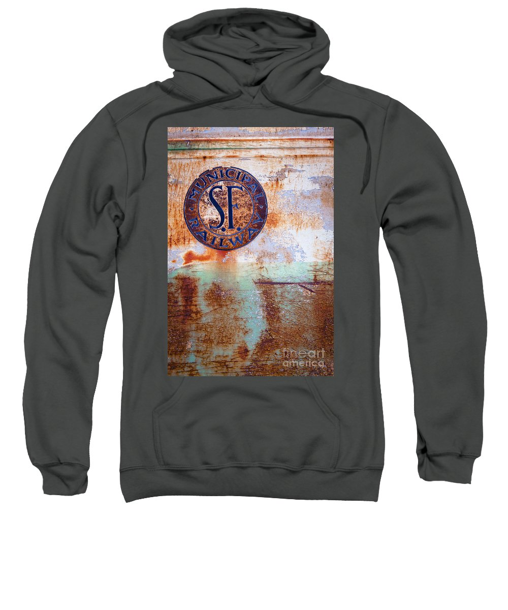 Illinois Sweatshirt featuring the photograph 1450 Illinois Trolley Museum by Steve Sturgill
