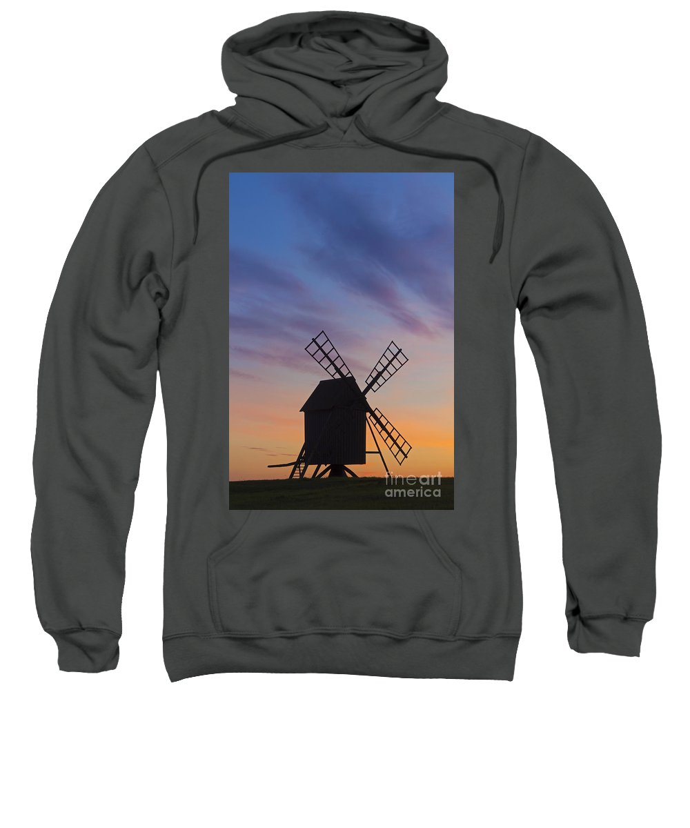 Windmill Sweatshirt featuring the photograph 150501p046 by Arterra Picture Library