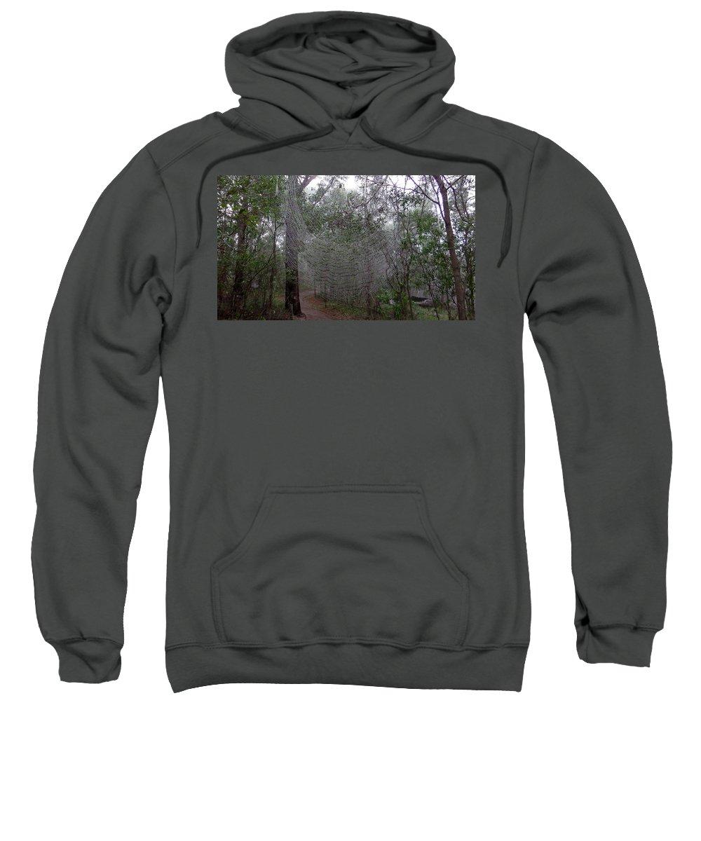 Australia Sweatshirt featuring the photograph Australia - The Spider by Jeffrey Shaw