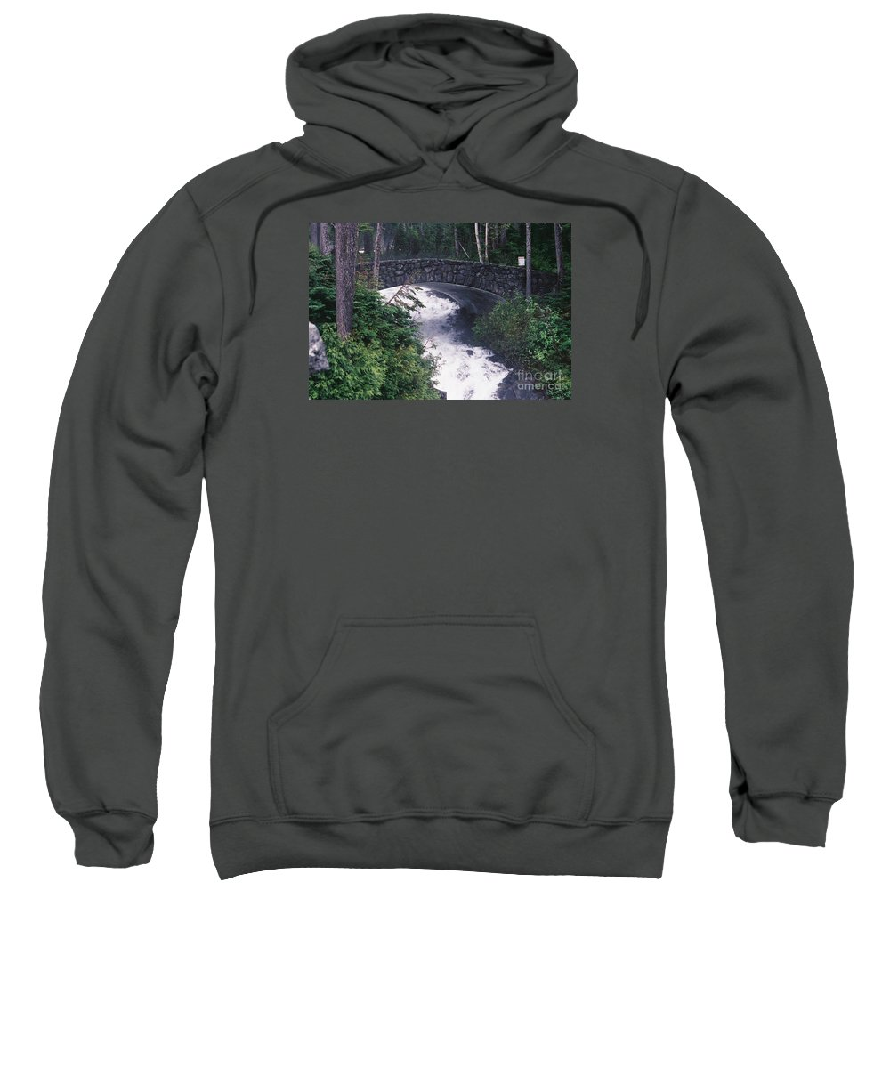 Bridges Sweatshirt featuring the photograph Untitled by John Huntsman
