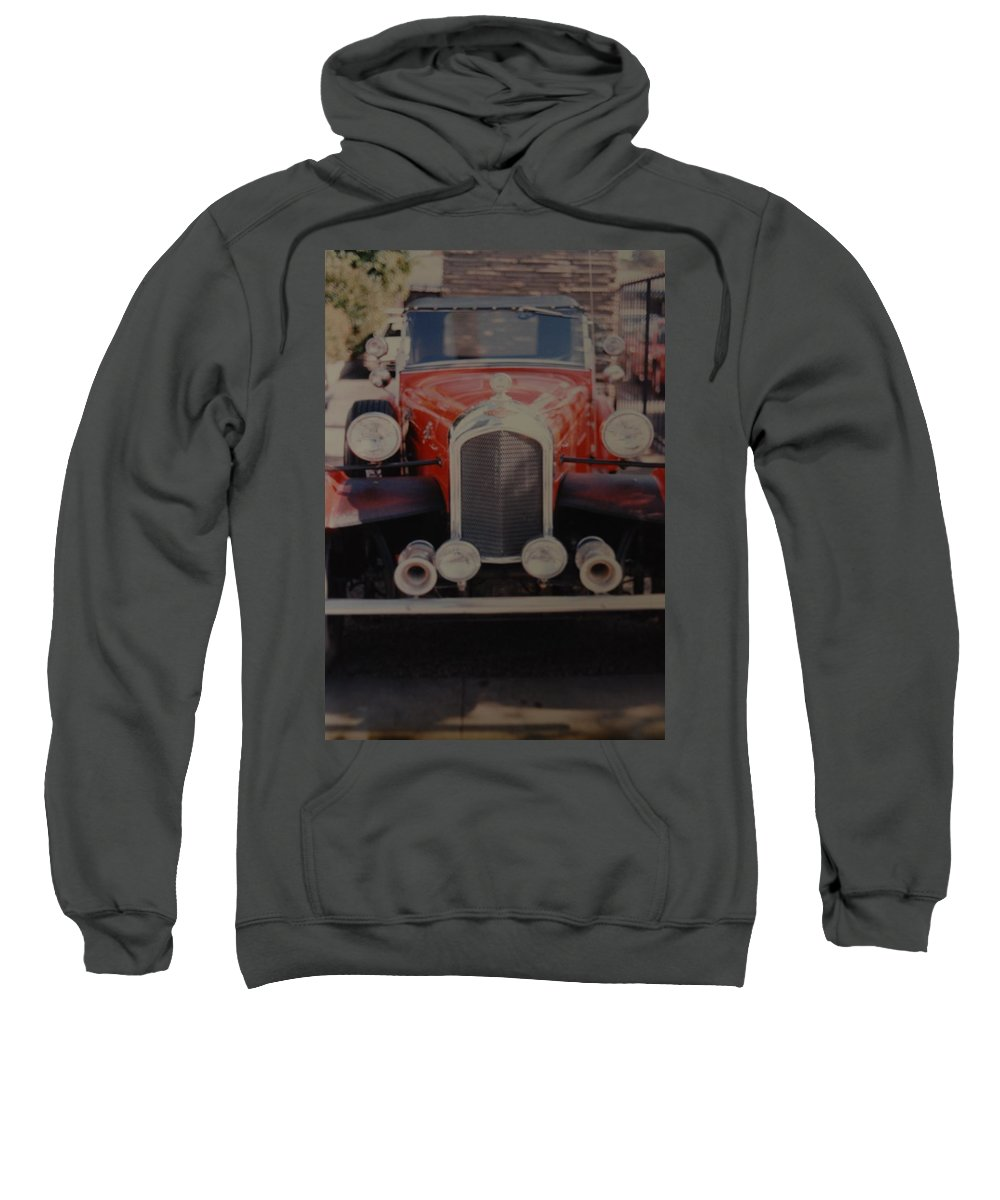 Car Sweatshirt featuring the photograph 1932 by Rob Hans