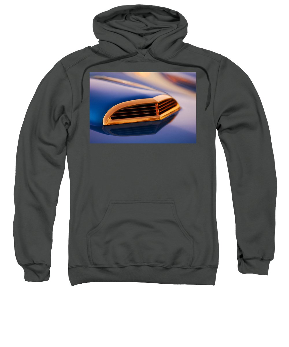 Classic Car Sweatshirt featuring the photograph 1957 Ford Thunderbird Scoop by Jill Reger