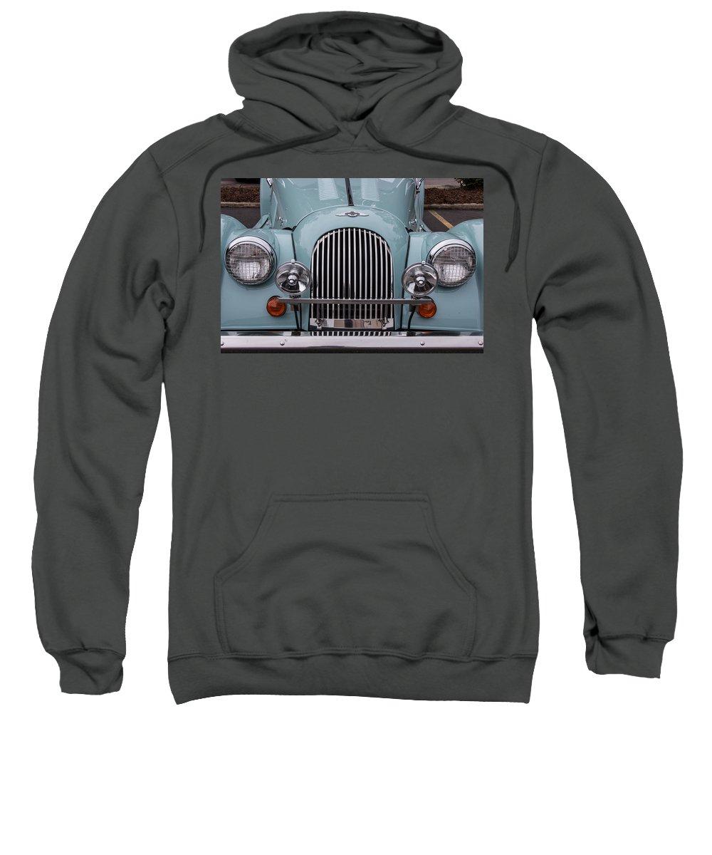 98 Sweatshirt featuring the photograph 1998 Morgan Plus 8 by Robert Kinser