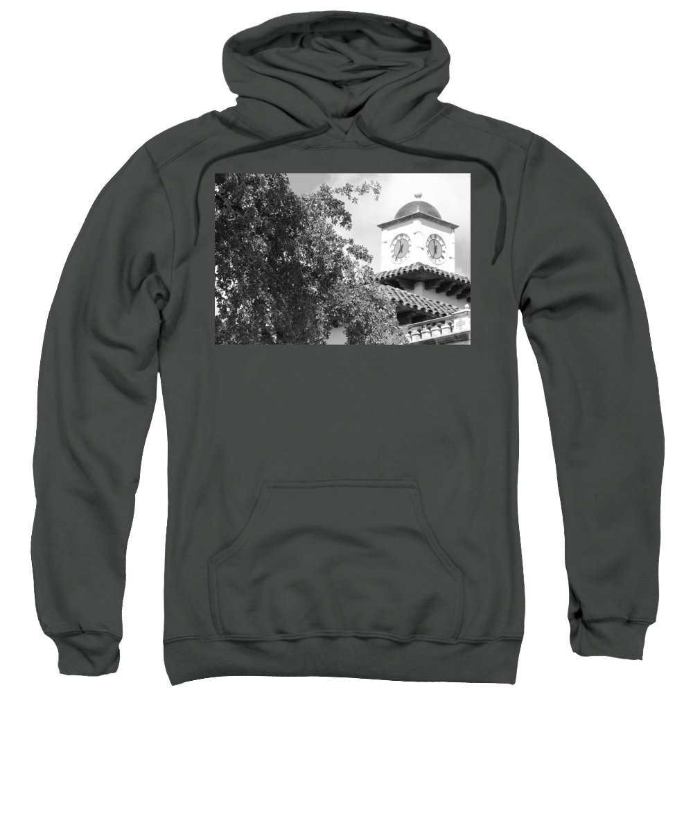 Clock Sweatshirt featuring the photograph Clock Tower by Rob Hans