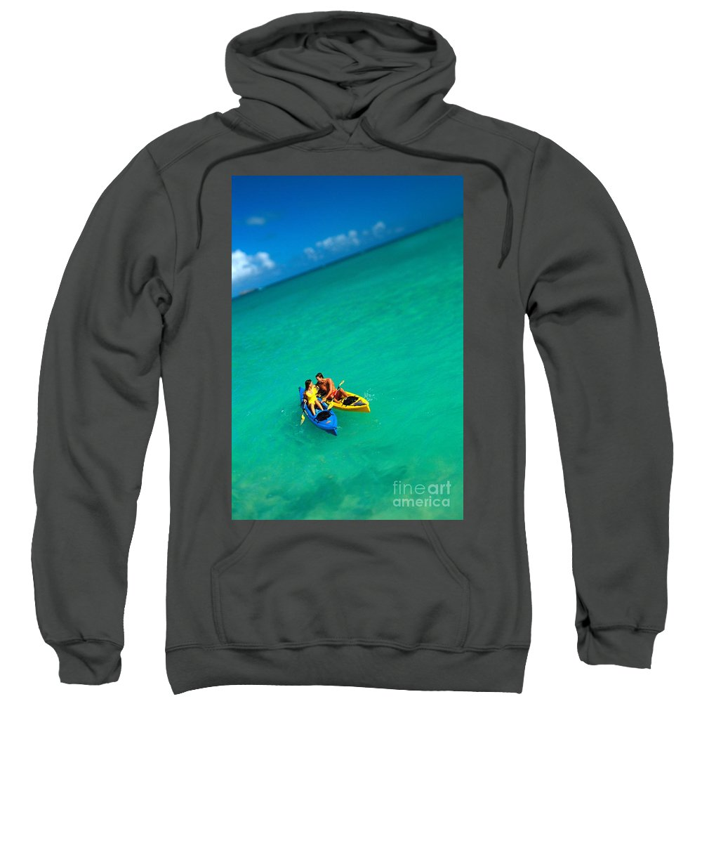 Active Sweatshirt featuring the photograph Couples Vacation by Dana Edmunds - Printscapes