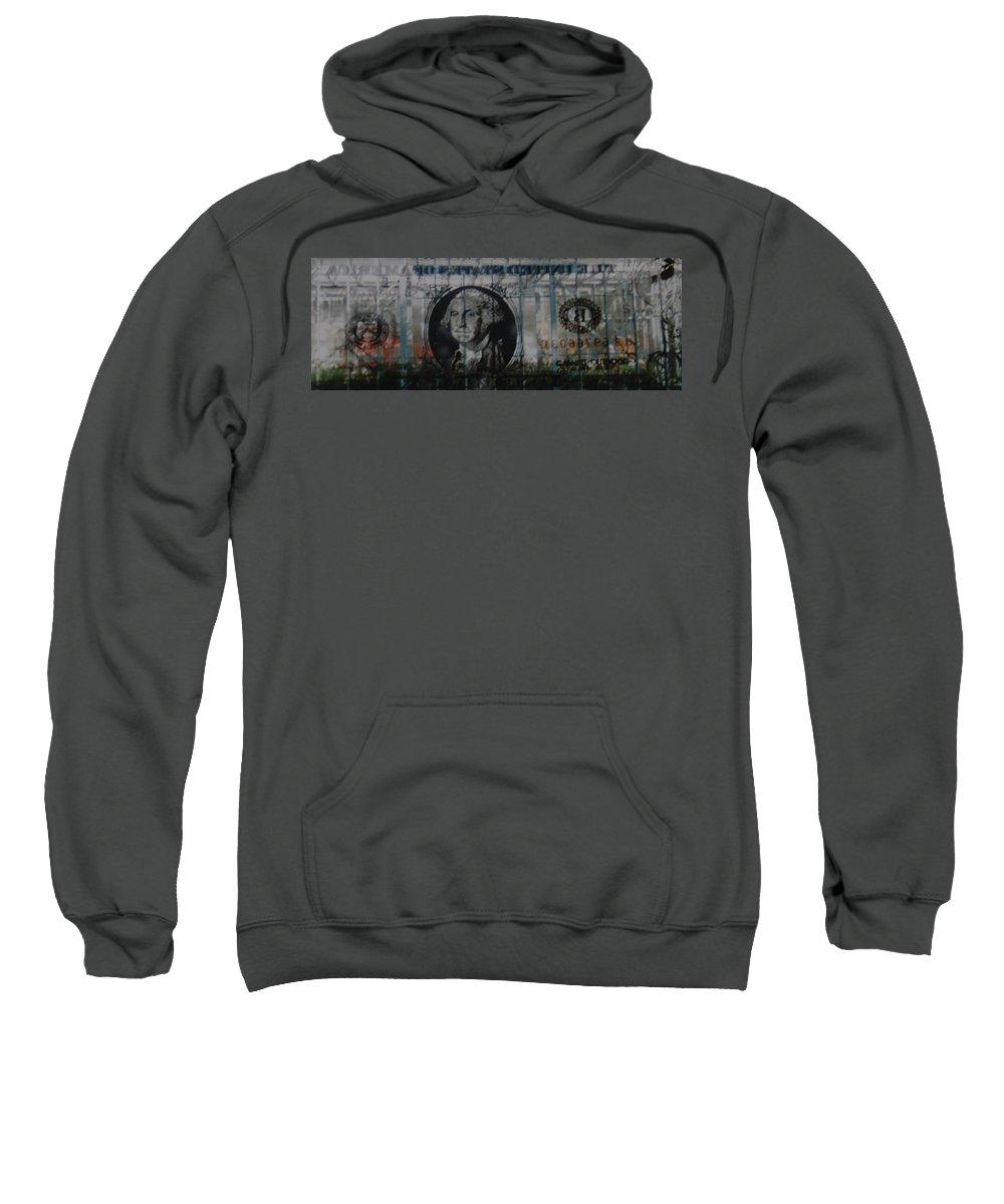 Park Sweatshirt featuring the photograph Dollar Bill by Rob Hans